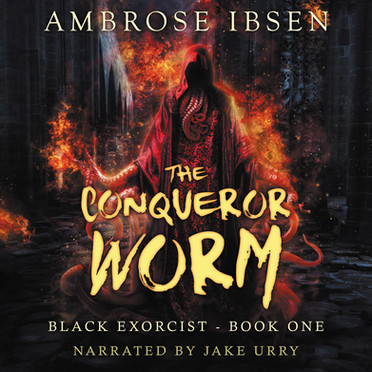 The Conqueror Worm Audiobook Cover