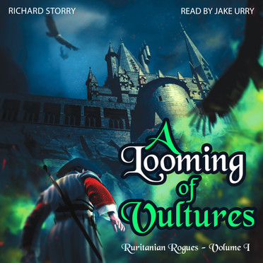 A Looming Of Vultures Audiobook Cover