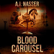 Blood Carousel Audiobook Cover