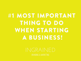 My #1 Most Important Tip When Starting your Business