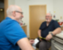 Paul Kapsar with Patient