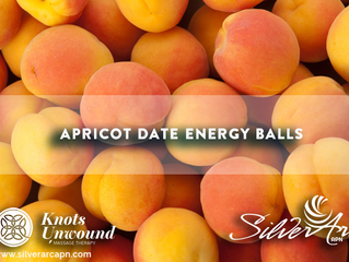 Delicious Apricot Date Energy Balls