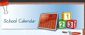 Preschool & Kindergarten School Calendar