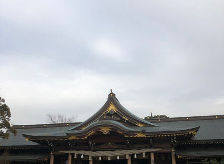 寒川神社参拝
