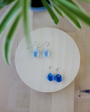 Yemaya Collections Sea glass earrings