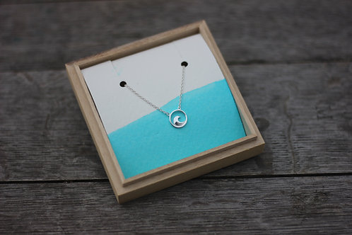 CIRCLE WAVE NECKLACE 2