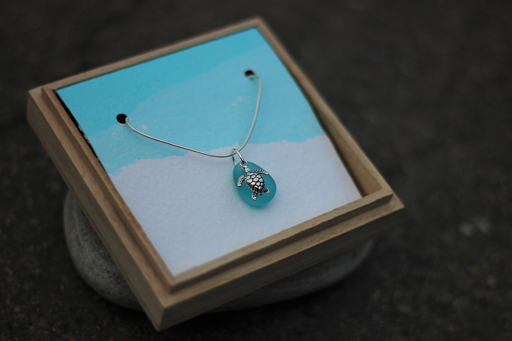 Yemaya Collections Sea Turtle Necklace