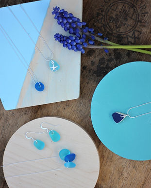 sea glass jewellery gift sets