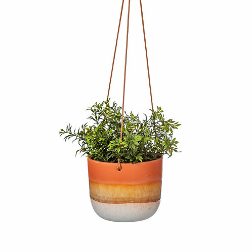 EARTHY HUES HANGING PLANTER