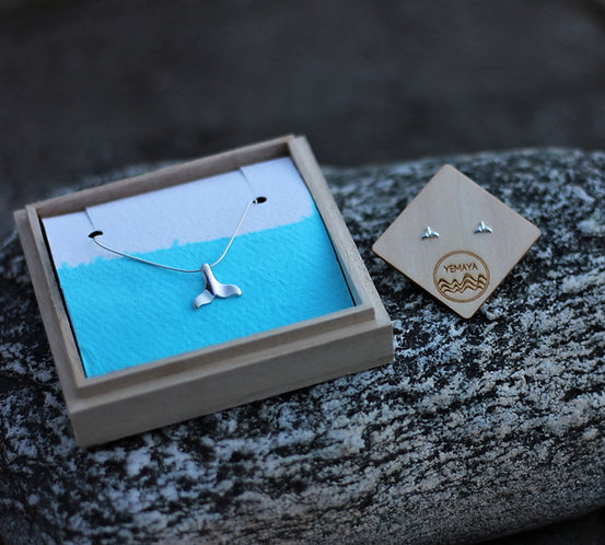 WHALE TAIL GIFT SET