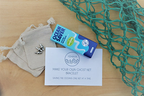 MAKE YOUR OWN GHOST NET BRACELET KIT