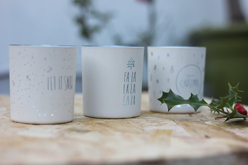 Christmas Tea Light Holder Set