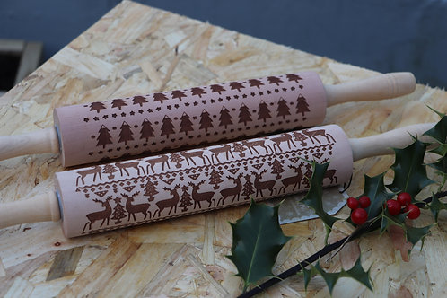 Christmas Rolling Pin Set