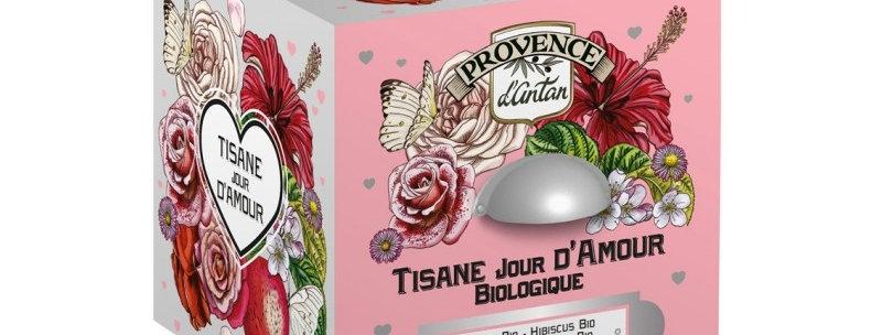 Tisane Jour d'Amour Bio - 24 sachets.