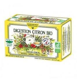 Tisane Digestion Citron Bio 20 sachets