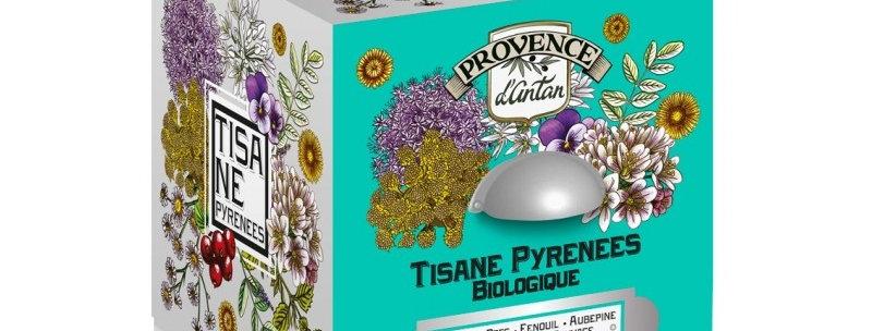 Tisane de Pyrénées Bio - 24 sachets.