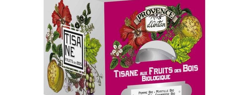 Tisane aux Fruits des Bois Bio - 24 sachets Boîte métal
