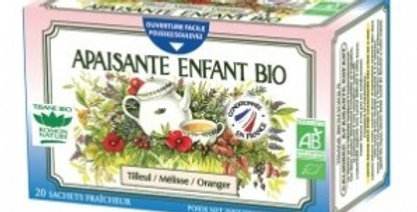 Tisane Apaisante enfant Bio 20 sachets