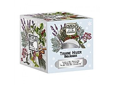 Tisane Hiver Bio - 24 sachets. Boîte métal