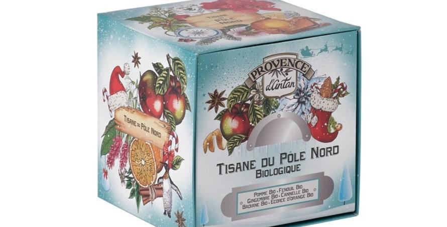 Tisane du Pôle Nord Bio - 24 sachets. Boîte métal
