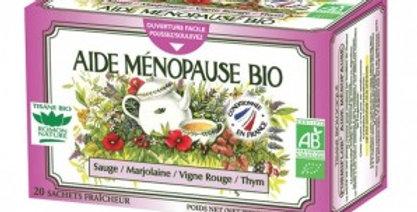 Tisane Aide ménopause bio 20 sachets