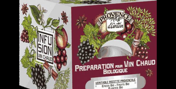 Infusion Préparation pour Vin Chaud Biologique,  24 sachets