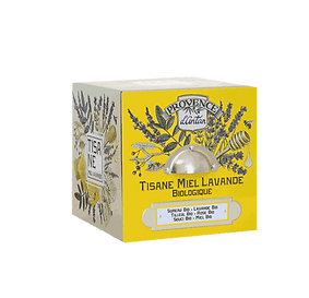 Tisane Miel Lavande Bio - 24 sachets.