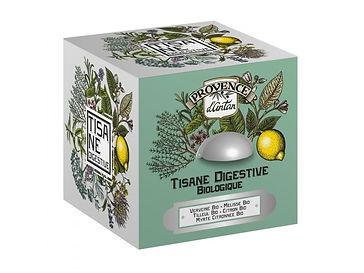 Tisane Digestive Bio - 24 sachets. Boîte métal