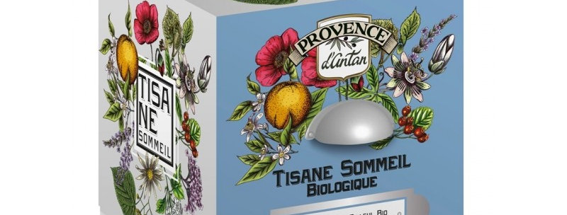 Tisane Sommeil Bio - 24 sachets. Boîte métal