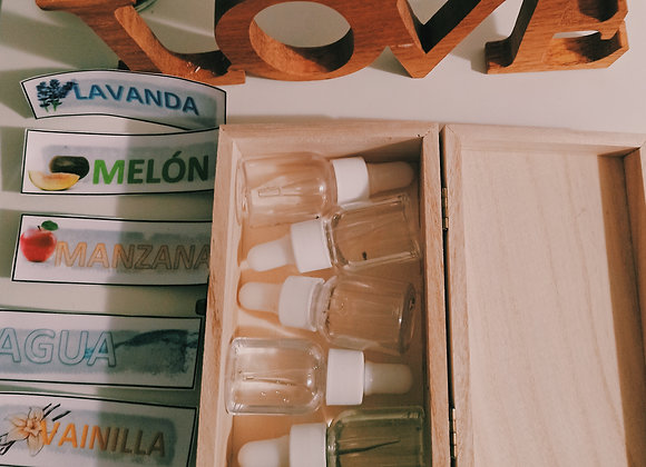 Cajita de aromaterapia