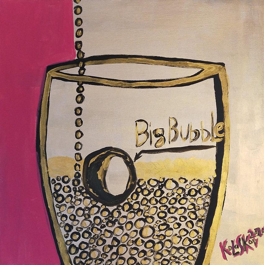 Колосков А.В. BIG Bubble 50x50 см. Холст