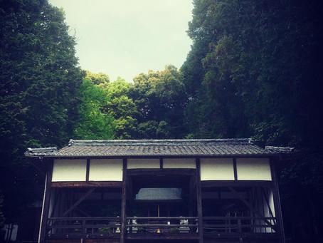 真野大野 河内神社の拝殿