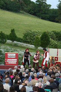 The Elizabethan Evening, Open air theatre, Outdoor theatre, Shakespeare, Gilbert and Sullivan, Manor Farm, Corsley, Wiltshire