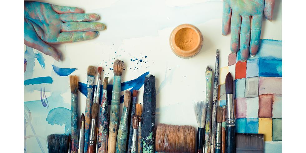 【平日コース】思考と生活に変化をもたらすアート術  6回シリーズ講座・平日申込み