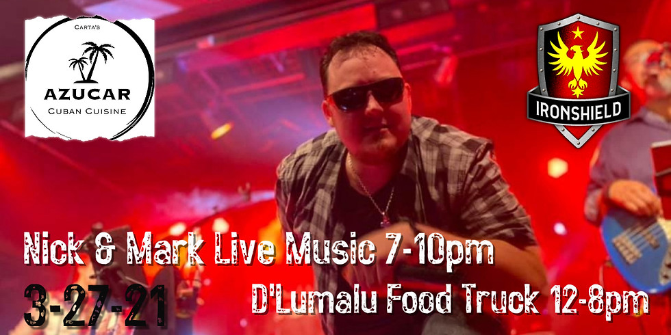 Nick & Mark Live Music and Azucar Cuban Food Truck