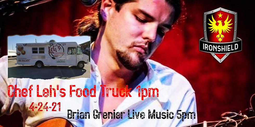 Brian Grenier Live Music & Chef Leh's Food Truck
