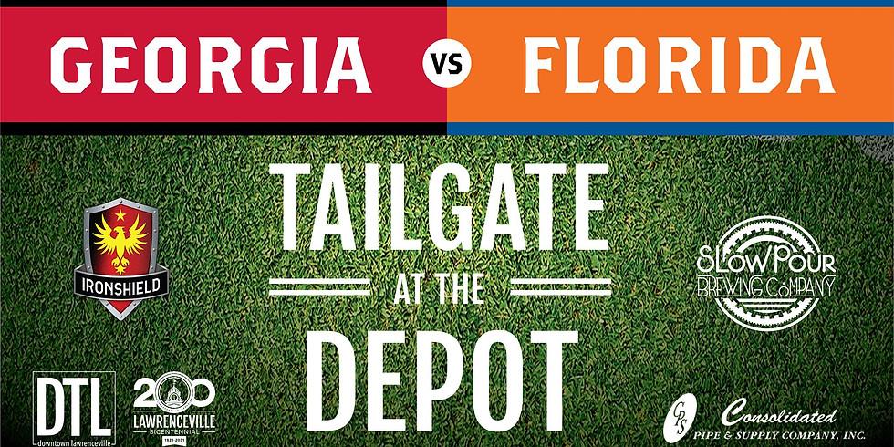 UGA vs FLA Tailgate at the Depot