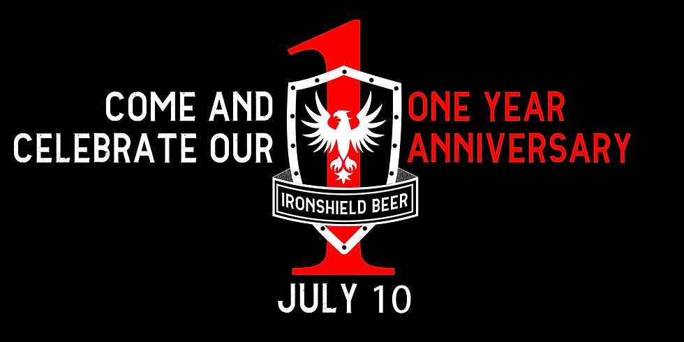 IRONSHIELD Brewing 1 Year Anniversary