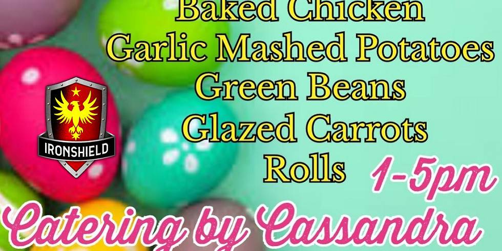 Easter Dinner with Catering by Cassandra