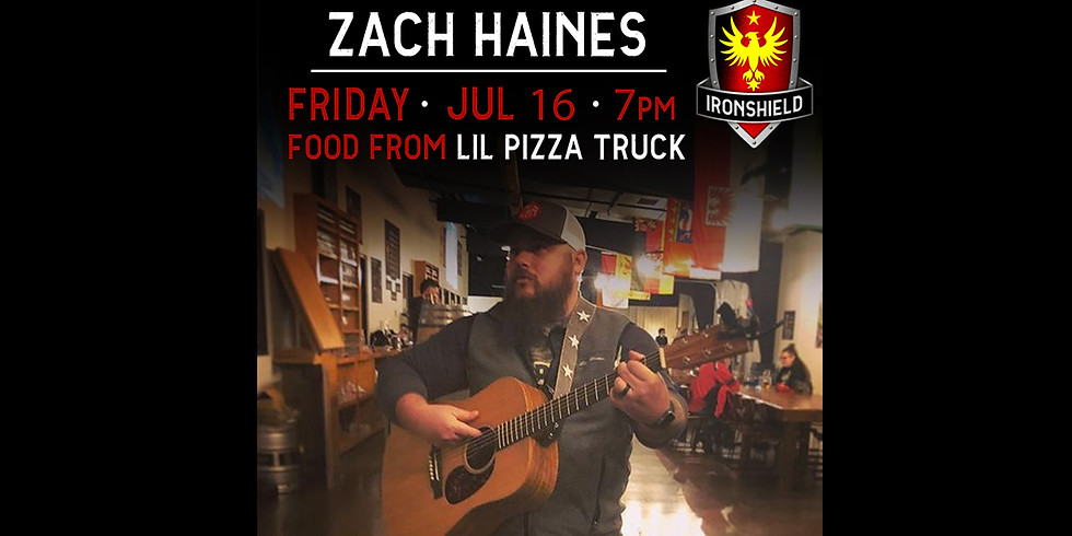 LIL PIZZA TRUCK & Zach Haines Live Music