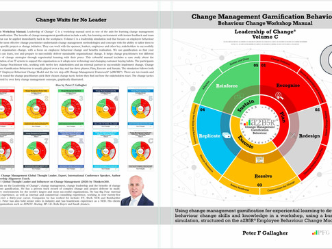 Change Management Gamification Behaviour - Leadership of Change® Volume C (Cover Design Release)