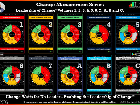 Change Management Book Series: Leadership of Change® - Rolling Out 2021
