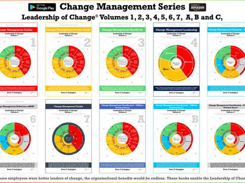 Change Management Book Series: Leadership of Change® - Author Goal