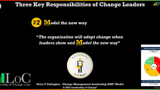 Change Leadership - Model the New Way - No Props Required