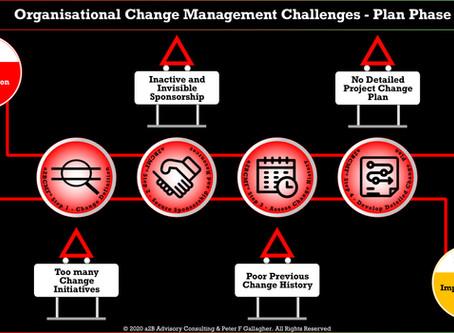 Organisational Change Management Challenges - Plan Phase