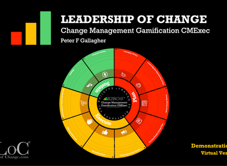 Change Management Gamification Leadership CMExec - Virtual Video Demo