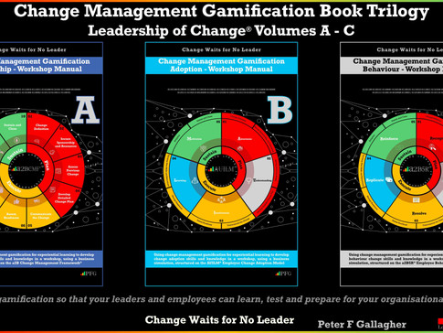 Change Management Gamification Book Trilogy: Leadership of Change Volumes A - B
