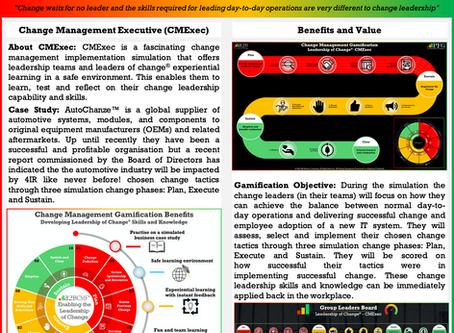 Preparing to Launch Change Management Gamification - CMExec Workshop