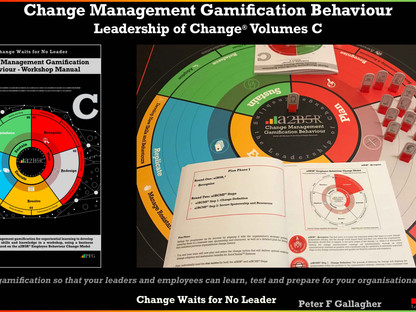 Change Management Gamification Behaviour - Leadership of Change®