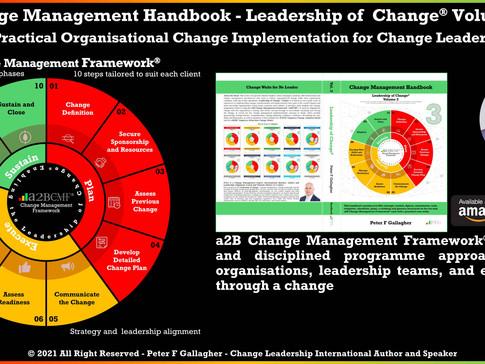 Change Management Handbook - Structured on the a2B Change Management Framework® (a2BCMF®)